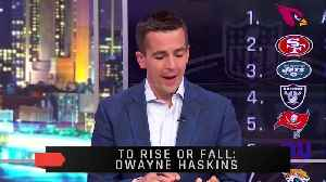 News video: Will Dwayne Haskins Be A Top 10 Pick?