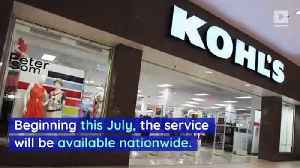 All Kohl's Stores Will Soon Take Back Amazon Items [Video]