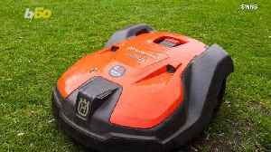 Cyber-Cutter! Robotic Lawn Mowers Are Beginning its Test Run At Several Parks Worldwide! [Video]