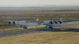 World's largest plane by wingspan lifts off into the history books [Video]