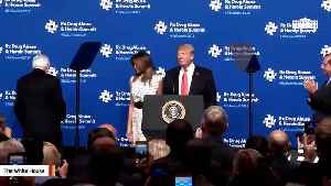 President Trump, Melania Trump Deliver Remarks On Opioid Crisis [Video]