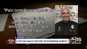 New details on Phoenix officer under investigation for excessive force [Video]
