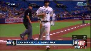 Jalen Beeks comes in, pitches Tampa Bay Rays over sliding Kansas City Royals 5-2 [Video]