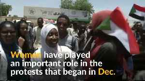 'Woman in white' says Sudan protests far from over [Video]