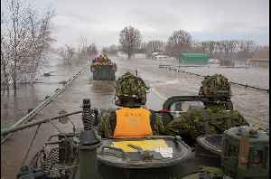 Canadian Army Assists With Quebec, New Brunswick Flood Relief [Video]