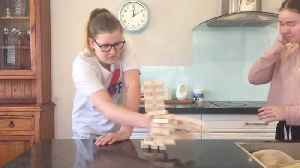 Bricking It: Girl With Tourettes Shows How She Plays Jenga [Video]