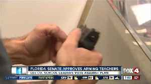 Lee County School Board votes unanimously against arming teachers [Video]