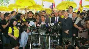 Hong Kong pro-democracy 'Occupy' leaders jailed [Video]