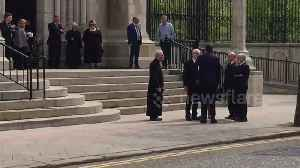 Corybn and Higgins among political leaders attending Lyra McKee's funeral in Belfast [Video]