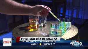 Hundreds of HS students learn about DNA at UA-sponsored event [Video]