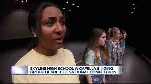 Ann Arbor Skyline High School A cappella group competing at national competition [Video]