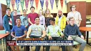 17 Walnut Hills students score perfect on ACT [Video]