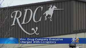 Drug Company Executive Charged [Video]