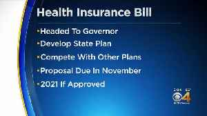 State Lawmakers Approve Bill To Develop State Insurance Option [Video]