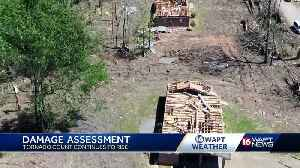 Tornado damage assessments continue as more storms threaten [Video]