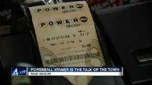 New Berlin residents have mixed feelings on Powerball winner [Video]