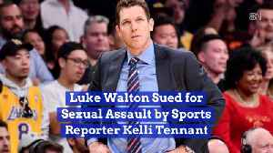 News video: Luke Walton Is In Trouble Over Alleged Sexual Assault