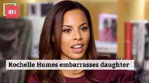 Rochelle Humes Tries To Impress Her Young Daughter [Video]