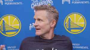 Steve Kerr, Stephen Curry, Klay Thompson Remarks On Former Warriors Coach Luke Walton [Video]