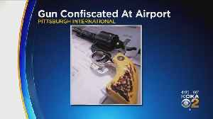 TSA Officers Stop Calif. Man With Gun At PIT Airport [Video]