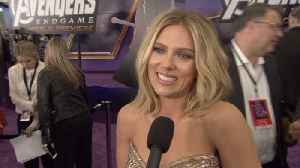 'Avengers: Endgame' Premiere: Scarlett Johansson-Black Widow [Video]