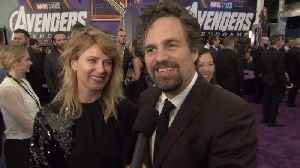 'Avengers: Endgame' Premiere: Mark Ruffalo-The Hulk [Video]