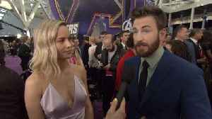 'Avengers: Endgame' Premiere: Captain Marvel Brie Larson and Captain America Chris Evans [Video]