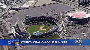 Alameda County Votes To Start Negotiations With A's For Sale Of Coliseum Site [Video]