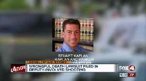 Wrongful death lawsuit filed in deputy-involved shooting in Fort Myers Beach [Video]