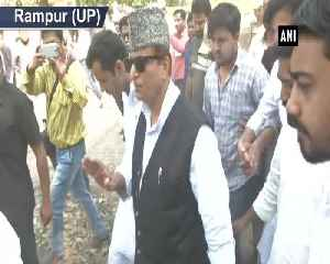 Azam Khan casts his vote along with son in UPs Rampur [Video]