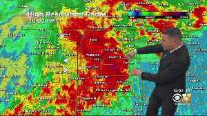 Storms Moving Through North Texas [Video]