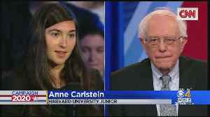 Harvard Student Who Asked Sen. Sanders About Voting Rights Speaks Out [Video]