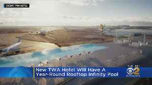 New Airport Hotel To Have Year-Round Pool [Video]
