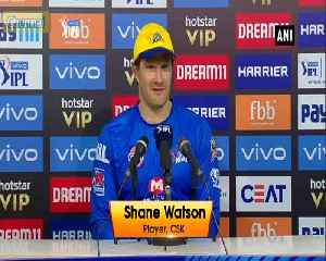News video: Shane Watson thanks Stephen Fleming and MS Dhoni for showing faith in him