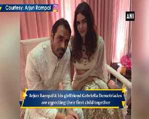 News video: Arjun Rampal Gabriella Demetriades expecting their first child together