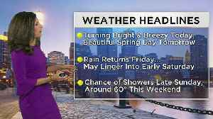 WBZ Morning Forecast For April 24 [Video]
