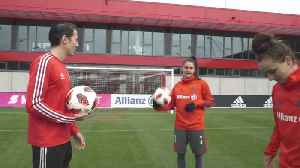 Amateur vs Bayern Munich Pros! | Shooting Challenges: Timbsy vs The World [Video]
