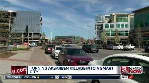 UNO students design kiosks to turn Aksarben into a 'Smart City' [Video]