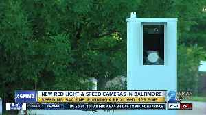 Six speed cameras, five red light cameras added to the city [Video]