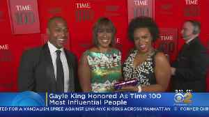 Gayle King Honored At Time 100 Gala [Video]