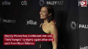 Mandy Moore was 'hungry' to marry again [Video]