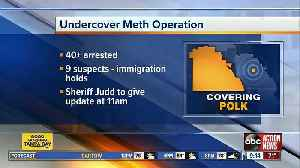 47 suspects charged in undercover meth operation in Polk Co. [Video]