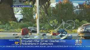 FBI Working With Sunnyvale Police After Driver Crashes Into Pedestrians, Injuring 8 [Video]