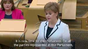 Nicola Sturgeon plans second independence vote before 2021 Holyrood elections [Video]