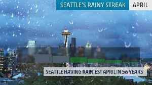 Rainiest April in Over 50 Years for Seattle [Video]