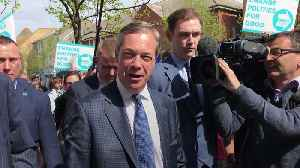 Nigel Farage rallies support for his new Brexit Party in Clacton-on-Sea [Video]