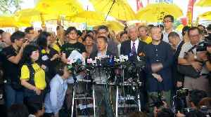 Hong Kong's 'Occupy Central' activists handed prison terms [Video]