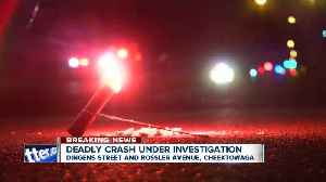 21-year-old woman dead after Cheektowaga crash [Video]