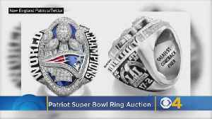 Patriots Player's '28-3' Super Bowl Ring Up For Auction [Video]