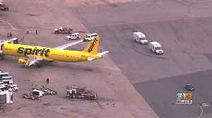 7 People Rushed To Hospital Due To 'Unknown Odor' After Spirit Airlines Flight Turns Around At BWI Airport [Video]